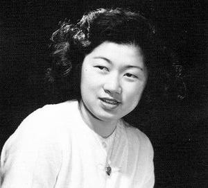 A portrait of a young Amy Ioki, then Amy Takahashi