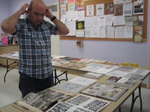 Marc Salvatierra (below): Researcher, Venice Historical Society