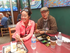 Jennifer Tomita and Yosh Tomita, former Manzanar internee who passed away January 19, 2017